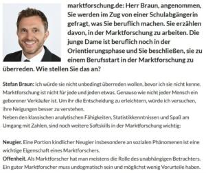 komma Neuigkeiten Screenshot Marktforschung.de